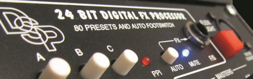 80 Preset 24-Bit Digital Effects Processor